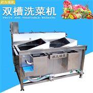 翻斗式双槽洗菜机
