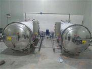 供应水浴式双锅并联杀菌锅