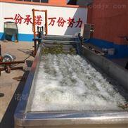 QX-4米-芹菜清洗机、果蔬清洗机、超声波清洗机、酱菜清洗机