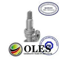 進口彈簧微啟式螺紋安全閥,(德國OLES)