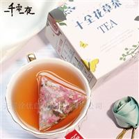 QY-100SJ蜜桃乌龙茶三角包袋泡茶包装机厂家直销