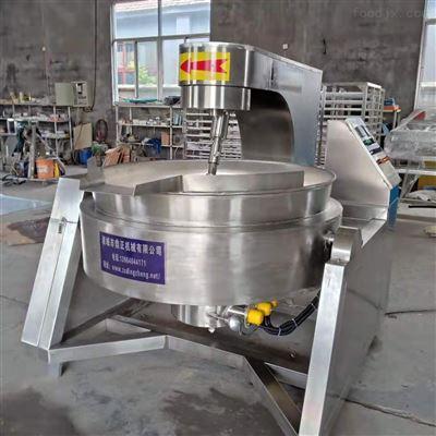 500L电磁高粘度豆沙行星搅拌炒锅