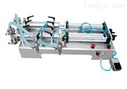 半自动双头液体灌装机