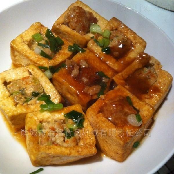 广西豆腐酿盒装封口包装机