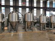 500L小型精酿啤酒设备山东赫尔曼