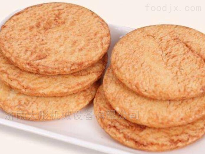 膨化食品机械膨化酱油饼生产线