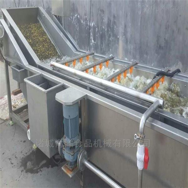 秀珍菇加工制造气泡清洗流水线