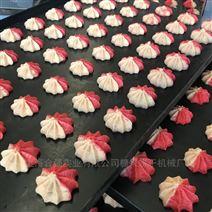 雙色花瓣餅干擠出機 小型曲奇餅干澆注機