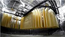 匯益450中低溫面條生產流水線設備