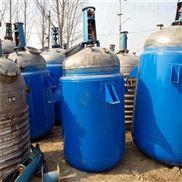 出售二手500L树脂化工乳液化工反应釜
