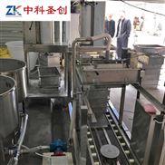 千张豆腐皮机 豆腐皮加工机器视频 自动仿手工豆腐皮机器