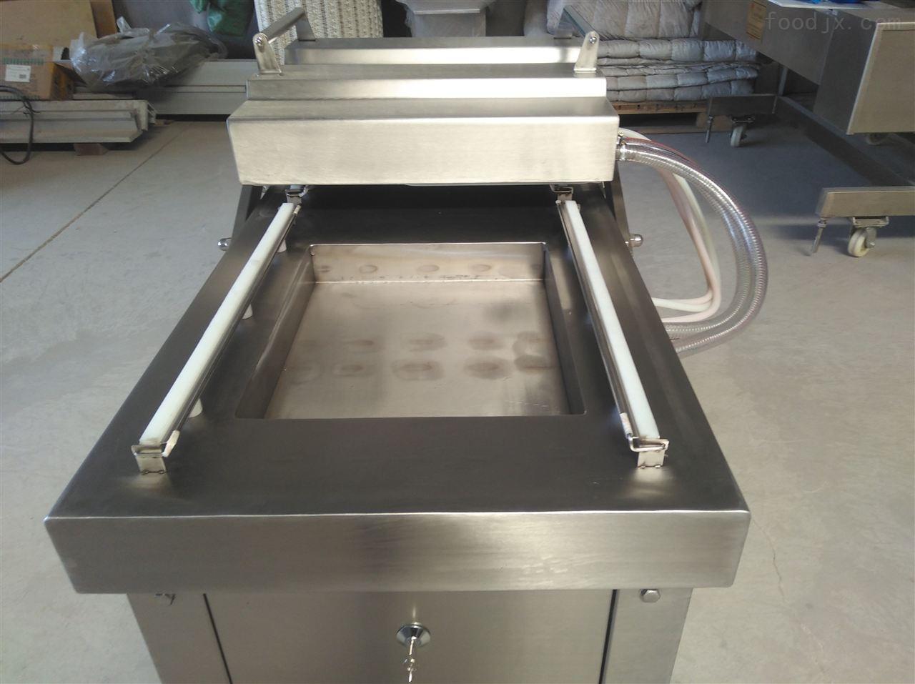 外置防水电器箱海产品真空封口机