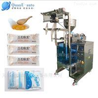 QY-800独立小袋装蜂蜜糖浆果酱等酱液体包装机