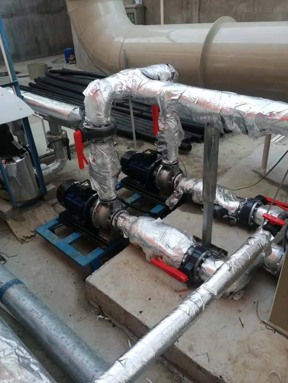工业喷淋塔粉尘废气处理解决方案