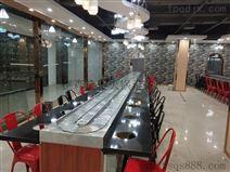 广东省热门的 旋转小火锅设备 回转餐台设备