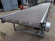 可移动爬坡食品不锈钢网带输送机