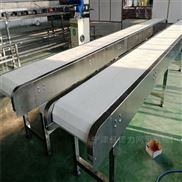 供應食品級鏈板輸送機 不銹鋼鏈板流水線