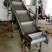 防滑鏈板輸送機提升鏈板傳送設備食品材質