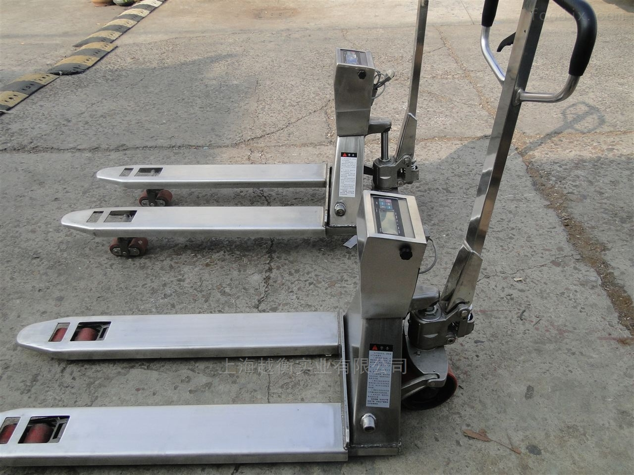 美观大方的不锈钢叉车称 电子搬运叉车秤