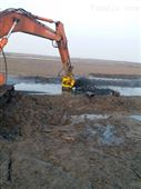 沙桩采砂工程挖机液压采砂泵抽沙泵排沙泵