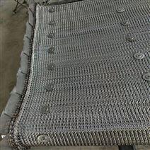 螺丝电镀烘干箱用耐高温人字加密折边网带