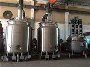 长期出售二手蒸汽加热反应釜
