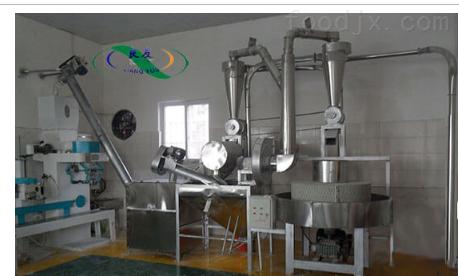 全自动风运石磨磨粉机