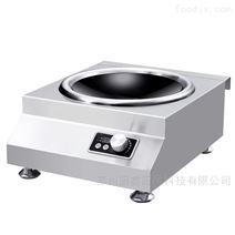 厂家供应商用电磁炉台式凹面炉后厨炒菜灶具