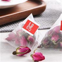 玫瑰花草茶三角袋茶叶包装机 无锡诠优
