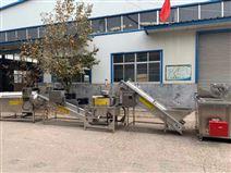 全自动大型速冻薯条加工设备 根据产量定制