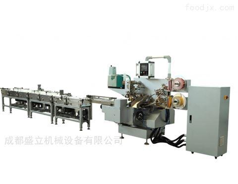 全自動高速茶葉小沱茶裹包機折疊包裝機