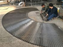轉彎機扇形不銹鋼網鏈