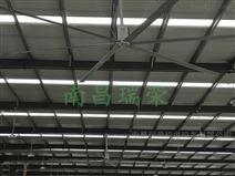 大型工业吊扇的设置和工厂的结构有很大关系