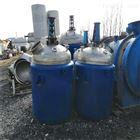 二手3吨不锈钢反应釜供应