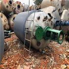 二手3立方不锈钢反应釜供应