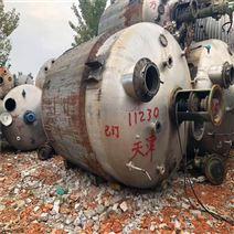 二手10噸不銹鋼反應釜供應