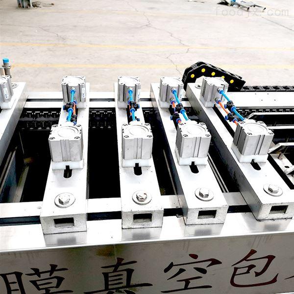 豆腐干全自动拉伸膜真空包装机