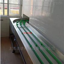 杭州圆带式餐盘回收输送机