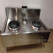 燃气灶-成都厨具厂食堂设备双炒单吊灶