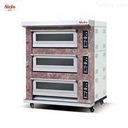 广州式燃气烤炉层炉 尼科烘焙机械设备