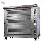 广州式烤炉工业 面包电烤箱 尼科厂家直销