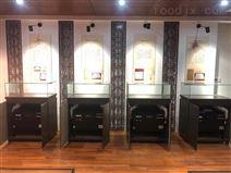 安徽中醫藥大學展柜恒溫恒濕機安裝調試完畢