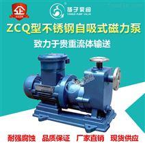 ZCQ型不銹鋼磁力自吸泵耐酸堿磁力泵