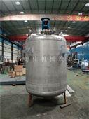 供应河北2000L不锈钢反应釜 腹膜胶生产设备