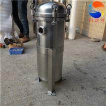 专供牛奶厂高卫生物料袋式过滤器
