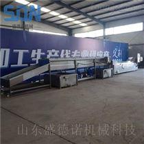 SDN-1000成套玉米速冻设备 速冻玉米加工生产线