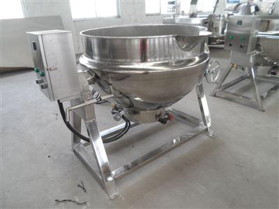 多功能食品加工设备倾斜式夹层锅