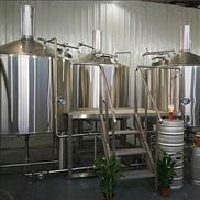 日產500L酒店精釀啤酒設備