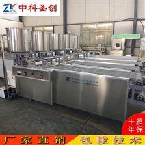 常德全自動豆腐皮生產線 千張豆皮機