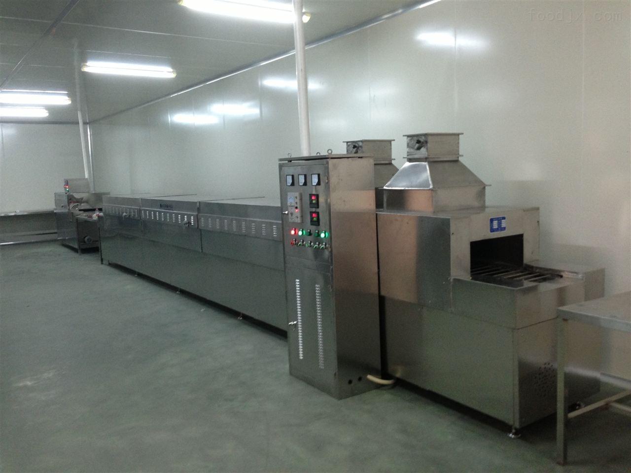 电加热食品烘干设备玻璃瓶专用隧道烘干机